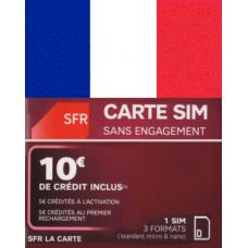 Сим карта Франции SFR ✅