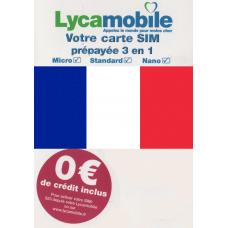 Сим карта Франции Lycamobile ✅