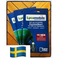Сим карта Швеции Lycamobile ✅