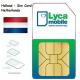 Сим карта Нидерландов Lycamobile ✅